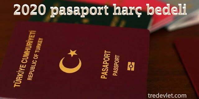 pasaport harc bedeli